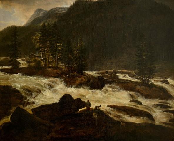 The Mårelv near Tinn