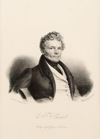 Portrait of karl Friedrich Schinkel