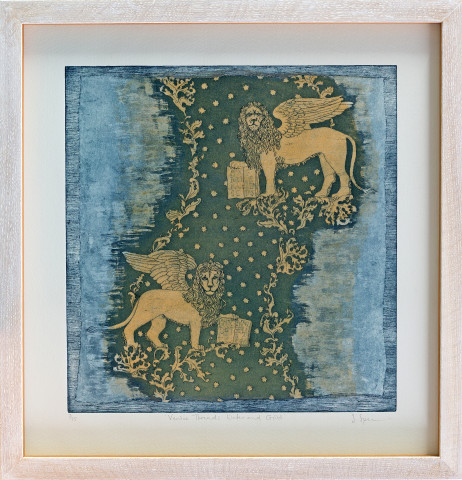 Sally Spens, Venice Threads Water and Gold