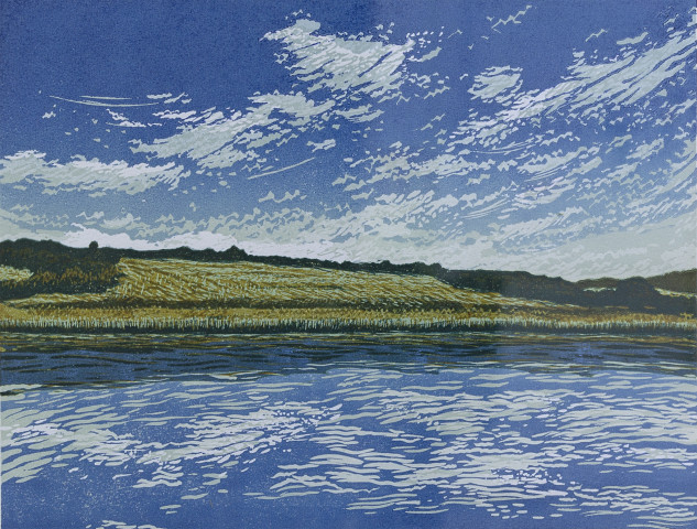 Peter Ursem, Tamar Valley, River and Sky