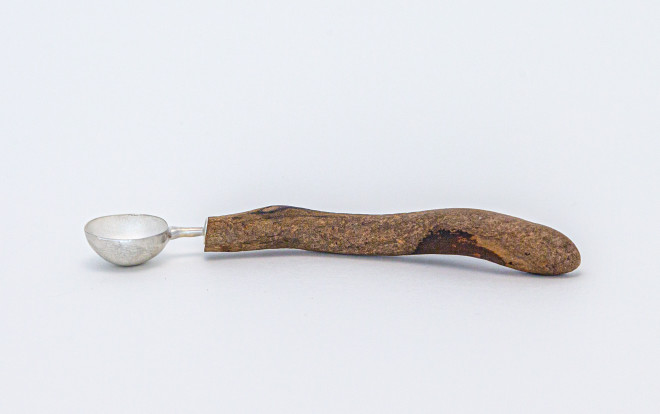 Rachael Osborne, Round Bowl Driftwood Spoon with Long Handle