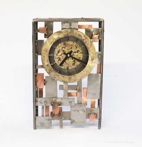 Bits and Pieces Clock