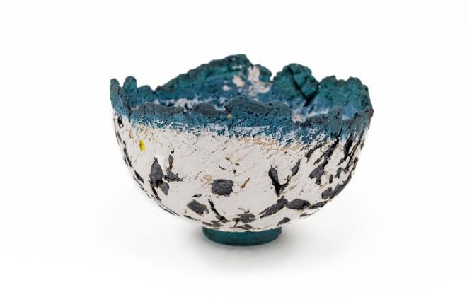 Paula Downing, Blue 'Gem' Bowl