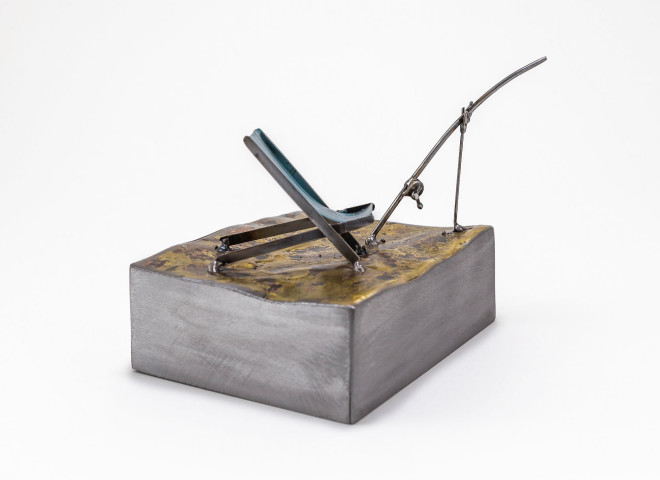Kerry Whittle, Deckchair with Fishing Rod