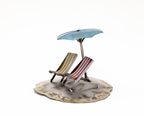 Deck Chairs and Brolly