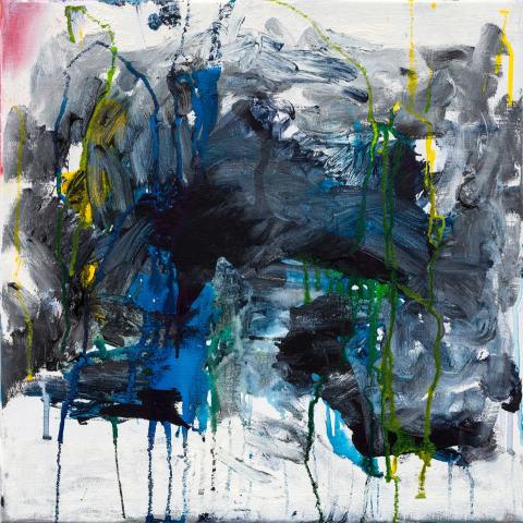 Frances Aviva Blane, Blue on Grey