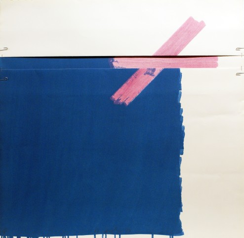 Richard Smith, Chocolate Box II (blue), 1977