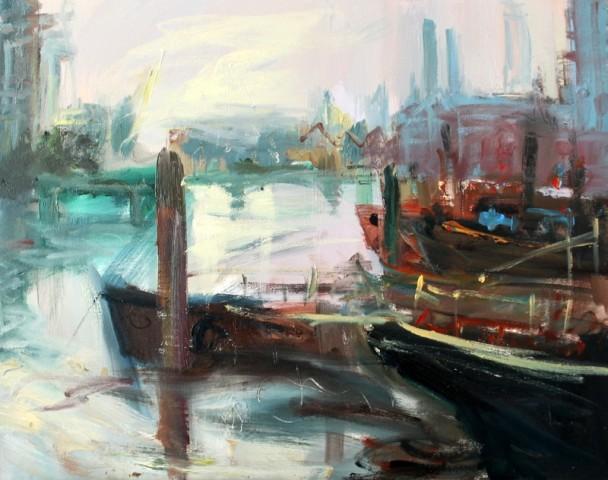 Lydia Minter, Chelsea Wharf 2017 , 2019