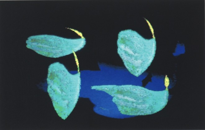 Shelagh Cluett, Blue Flames, 1991
