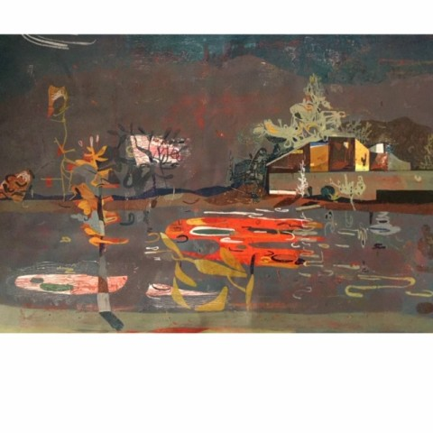 John Harmer , Orange Reflection, 2019