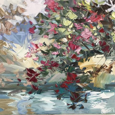 Paul Treasure, Sipping Rose, 2019