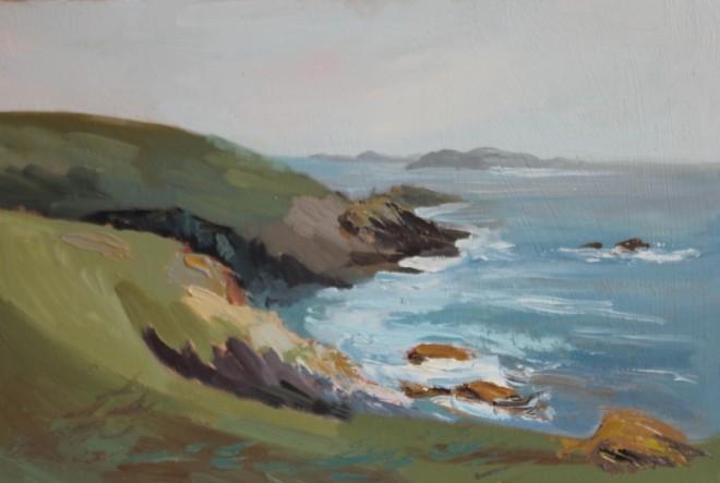 Lydia Minter, Scilly Isles I , 2019