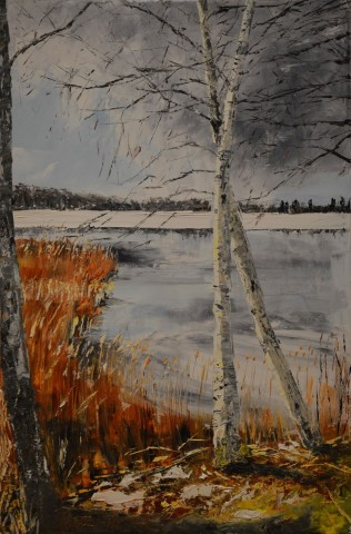 Jenny Wilson, Birches, Lakes and The First Day of Spring, 2019