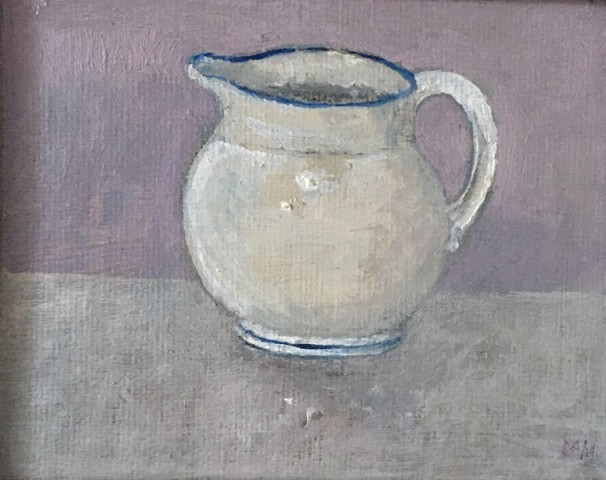 Muriel Mallows, White Jug, 2019