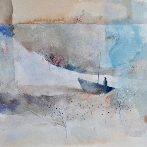 Julie Collins, Autumn Sail, 2018