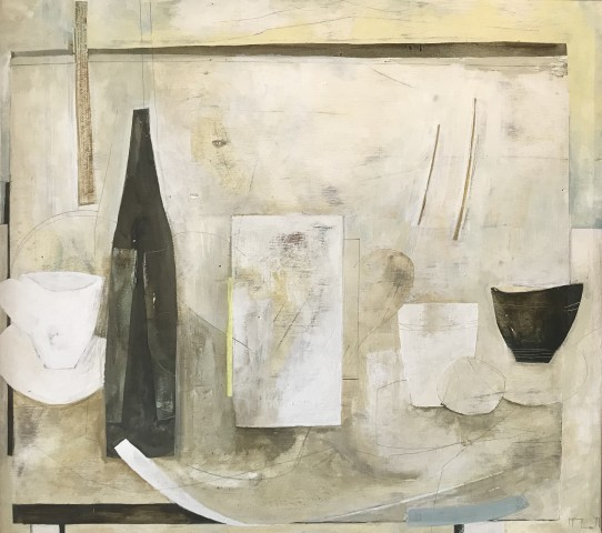 Ffiona Lewis, Group III (with wine goblet), 1997