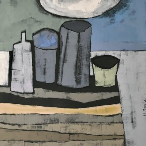 Marie Boyle, Still Life With Moon