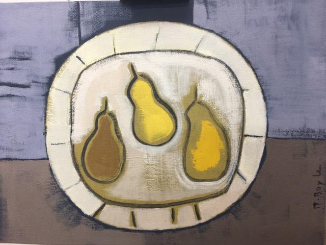 Marie Boyle, Three Pears, 2019
