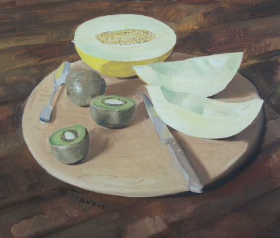 Sam Travers, Melon and Kiwi, 2018