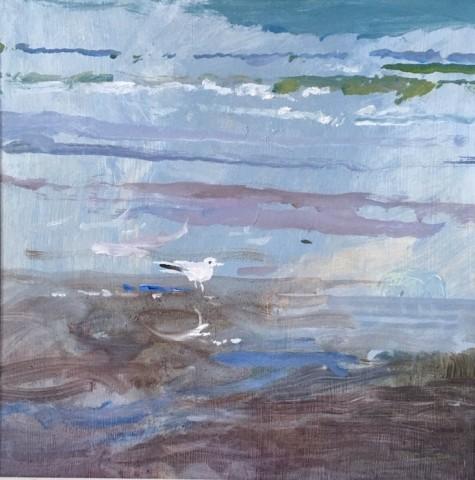 Muriel Mallows, Seagull, 2019