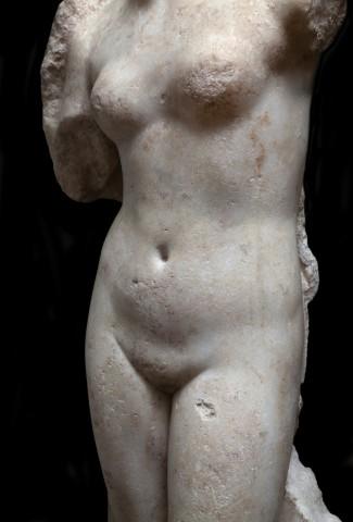 Roman statue of Venus Victrix  1st - 2nd century AD  Marble  Height 98 cm