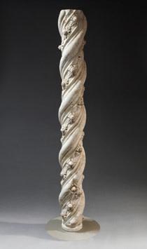 Romanesque column, Italy, c.12th-15th century AD