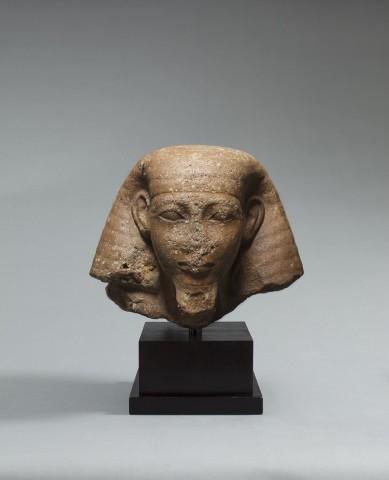An Egyptian quartzite head of Senenmut