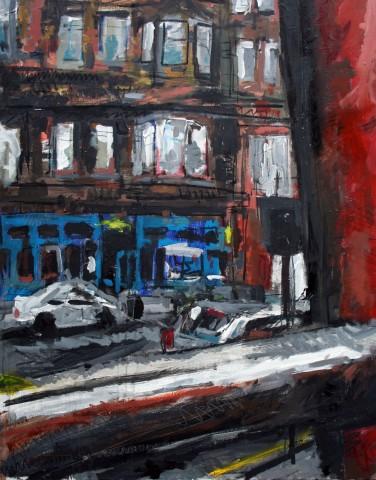 Matthew Thompson, View from Pub, Glasgow