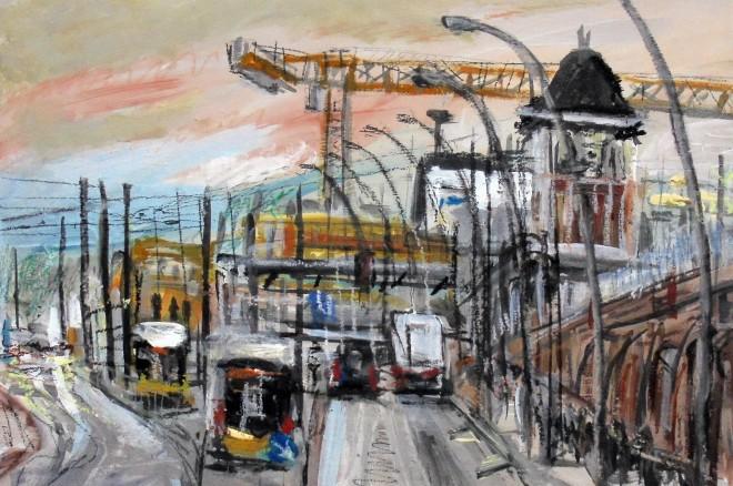 Matthew Thompson, Warschauer Strasse