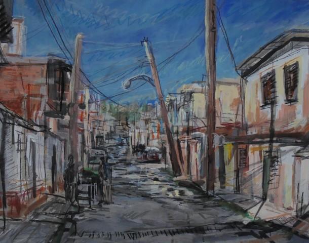 Matthew Thompson, Buying Veg, Trinidad