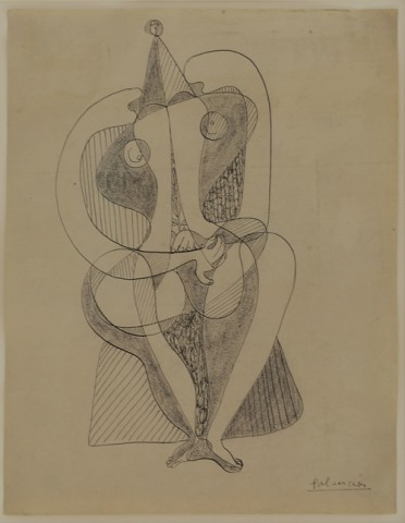 Benjamin Palencia, Figura Feminima, c1928