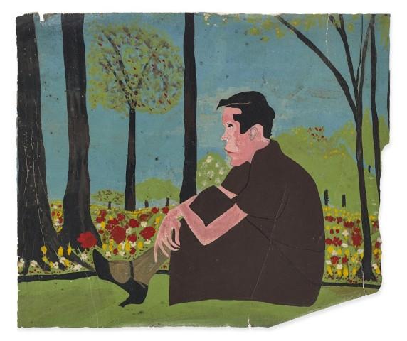 Frank Walter, Sitting Man