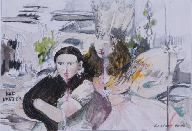 Yuliya Zastava, Bad Weather, 2012