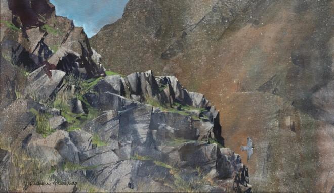 Malcolm Edwards, Peregrine, Llanberis Pass