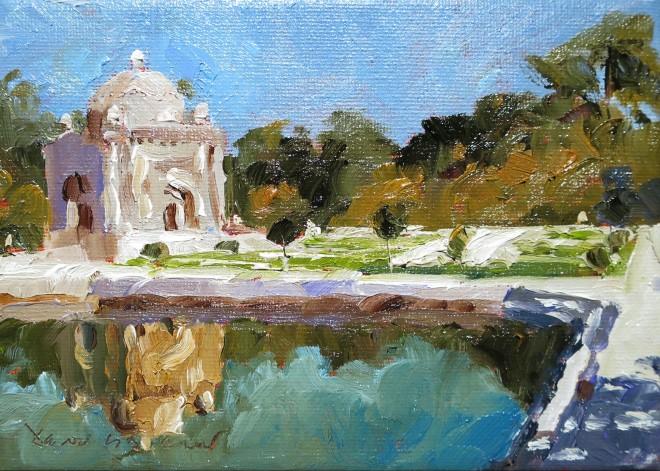 David Grosvenor, Ismail Samani Mausoleum, Bukhara, Uzbekistan