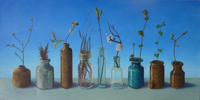 Kim Dewsbury, Early Spring, Bogwood, Foel Goch