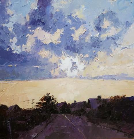 David Grosvenor, Evening Sky, Criccieth