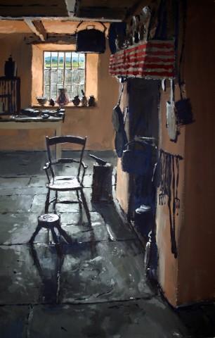 Matthew Wood, The Judge's Lodging - Kitchen Chair