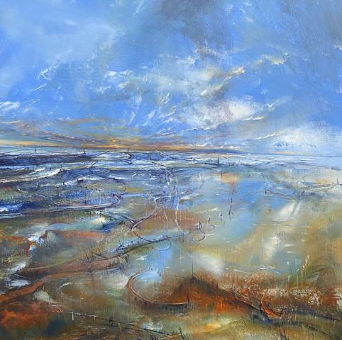 Iwan Gwyn Parry, Flooded Estuary at Cymyran Bay, Anglesey