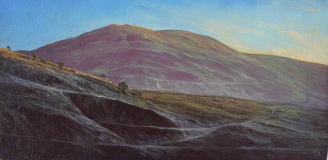 Gerald Dewsbury, Quarry near Arenig, Late Evening