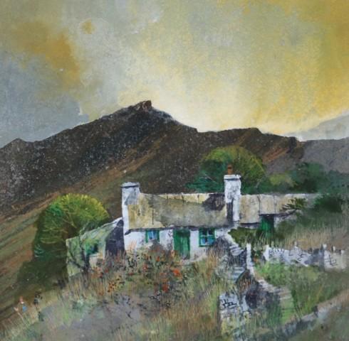 Malcolm Edwards, Sunrise, Pembrokeshire Cottage