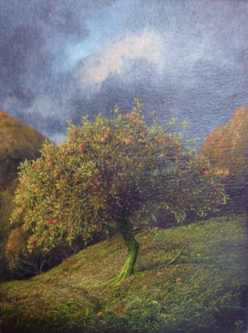 Gerald Dewsbury, Apple Tree