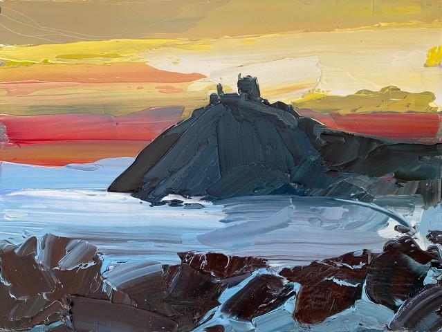 Sarah Carvell, Criccieth Sunset