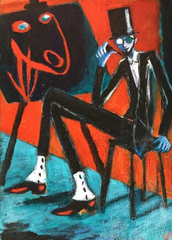 Gilly Thomas, Expressionist Man