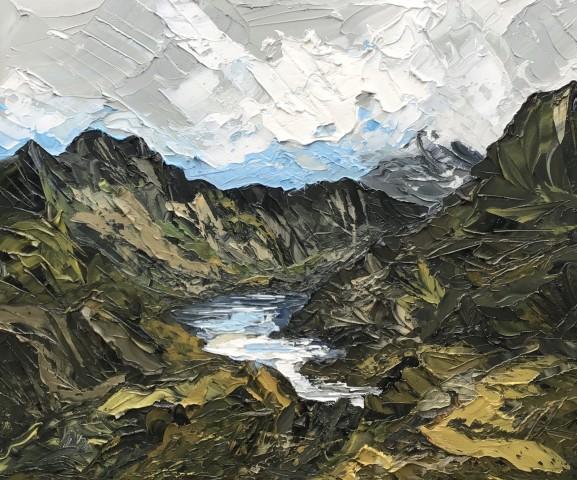 Martin Llewellyn, Lake, Snowdonia