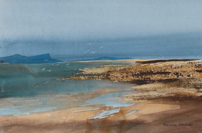 Malcolm Edwards, Distant Sandbar, Wester Ross
