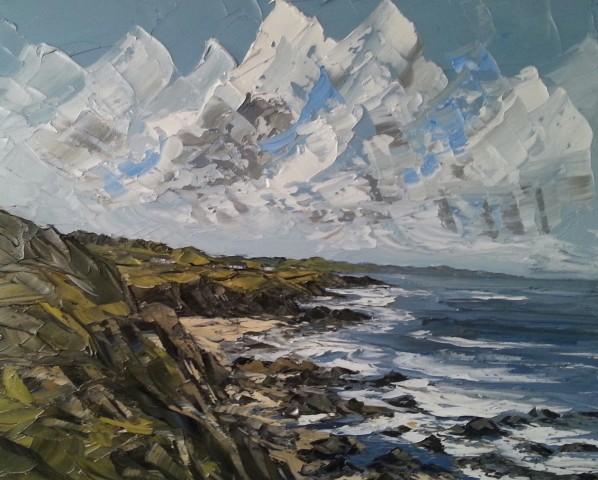 Martin Llewellyn, Church Bay, Anglesey Coast
