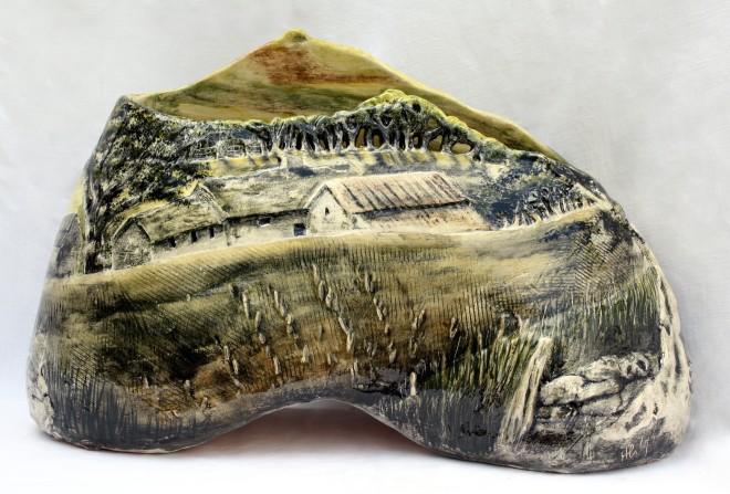 Helen Gittins, Farm beneath Clwydians