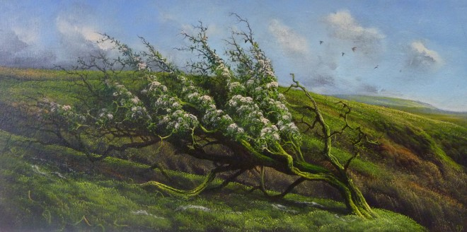 Gerald Dewsbury, Hawthorn, Long Mynd