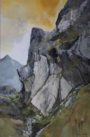 Malcolm Edwards, Mountain Abutment